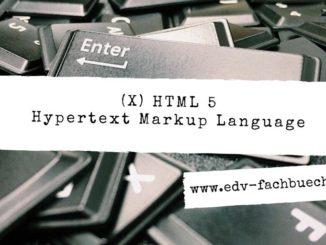 HTML Bücher
