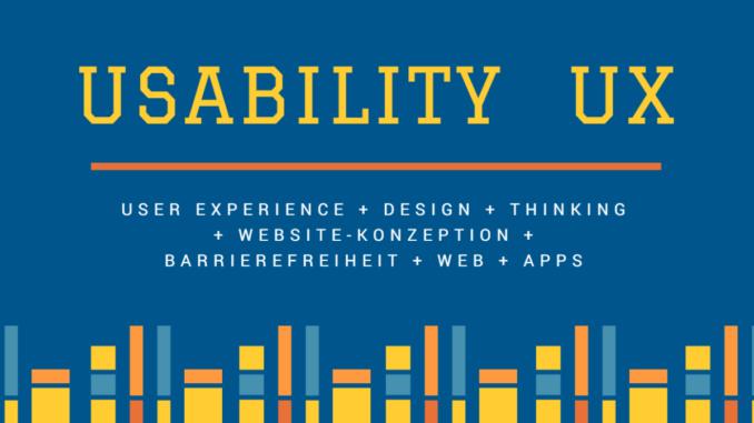 Usability und UX (User Experience, Nutzererfahrung) Fachbücher